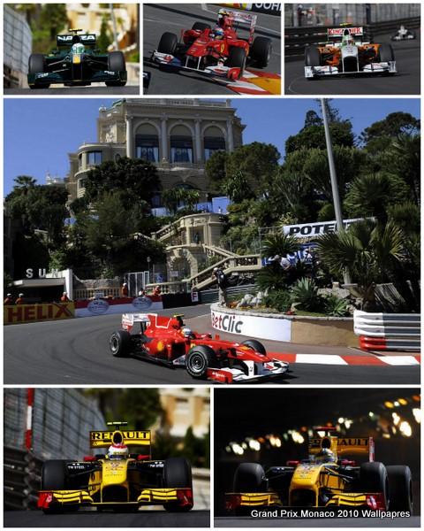 Grand Prix Monaco 2010 Wallpapres