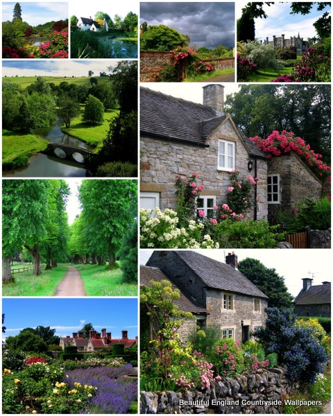 Beautiful England Countryside Wallpapers