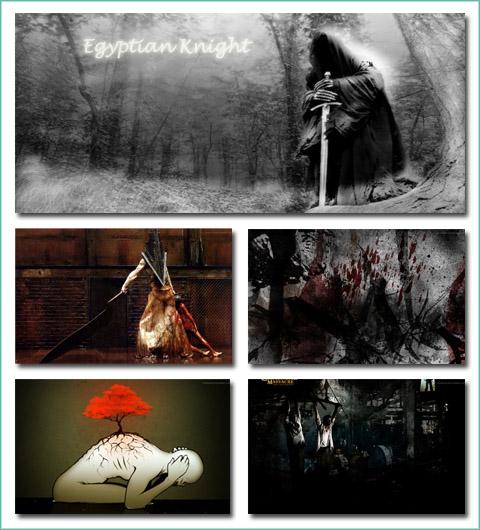 Amazing Horror and Dark Art Widescreen Wallpapers